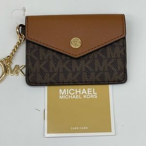 Michael Kors Kala Small Flap Key Card Case